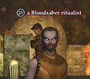 A Bloodsaber ritualist