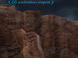 A relentless serpent