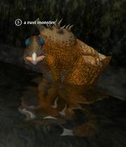A rust monster