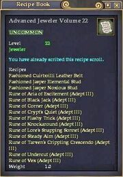 Advanced Jeweler Volume 22