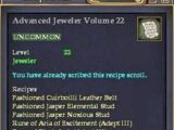 Advanced Jeweler Volume 22