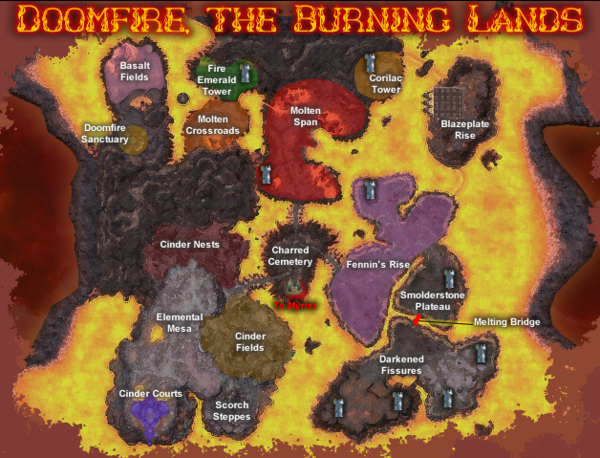 Doomfire, the Burning Lands