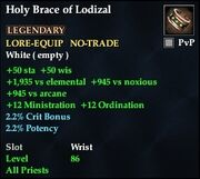 Holy Brace of Lodizal