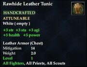 Rawhide Leather Tunic