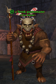 A Terrok quartermaster
