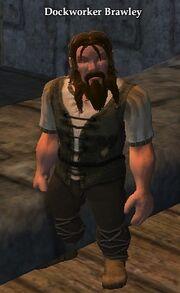 Dockworker Brawley