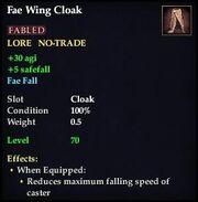 Fae Wing Cloak