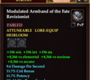 Modulated Armband of the Fate Revisionist