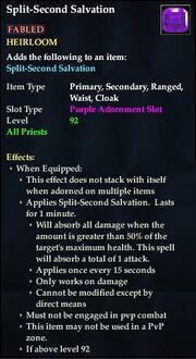 Split-Second Salvation (Purple)