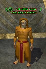 A Ratillik cleric