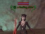 A feeding elder
