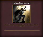 Agent Galen Stormwolf AgentCollection