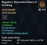 Beguiler's Bejeweled Shoes of Invoking