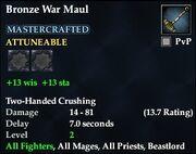 Bronze War Maul