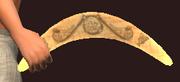 Fallen Brawler's Boomerang (Equipped)