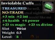 Inviolable Cuffs