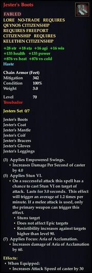 Jester's Boots
