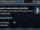 Naiad waterworker plushie