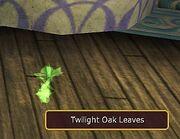 Twilight Oak Leaves