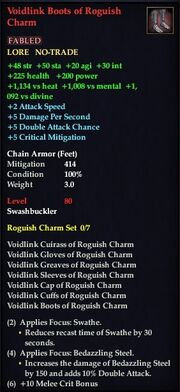 Voidlink Boots of Roguish Charm