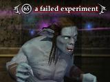 A failed experiment