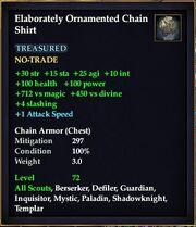 Elaborately Ornamented Chain Shirt