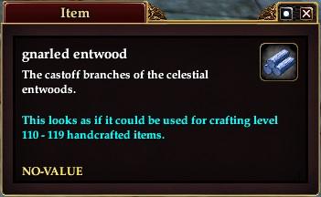 Gnarled entwood
