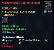 Mastermind's Cap of Control