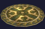 Round Rug of the Eternal Hunt (Visible)