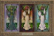 Sylvan Triptych (Visible)