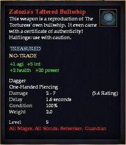 Zatozia's Tattered Bullwhip