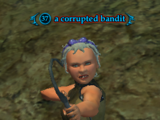 A corrupted bandit