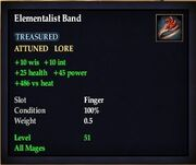 Elementalist Band