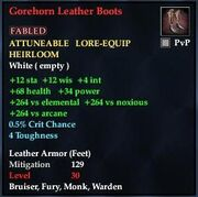 Gorehorn Leather Boots