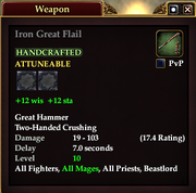 Iron Great Flail
