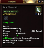 Iron Shamshir