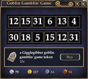 Lotto Game Window