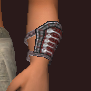Master's Illusionary Silk Cuffs (Equipped)
