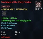 Necklace of the Fiery Vortex