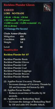 Reckless Plunder Gloves