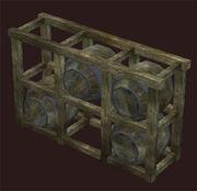 Rustic-rivervale-barrel-rack