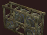 Rustic Rivervale Barrel Rack