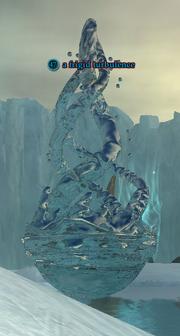 A frigid turbulence