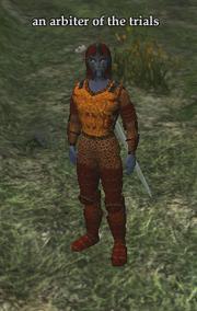 An arbiter of the trials