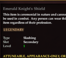 Emerald Knight's Shield
