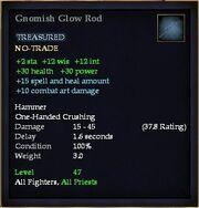 Gnomish Glow Rod