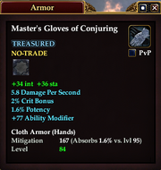 Master's Gloves of Conjuring