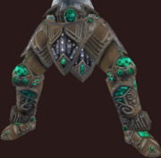 Vesspyr Warrior's Elaborate Bronze Greaves (Equipped)