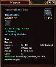 Wastewalker's Bow