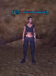A Dervish footpad